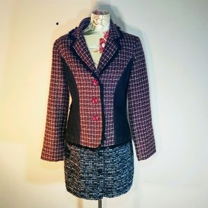 🆕Vtg 80s Forenza Tweed Jacket